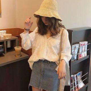 Lacey Oversized Casual Top