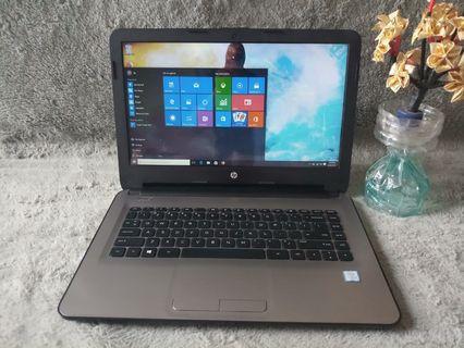 Laptop HP 14 Core i3 Generasi Ke 6