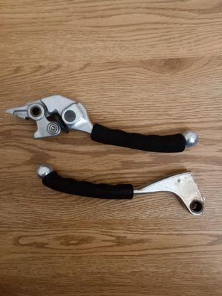 Cb400 clutch and brake lever