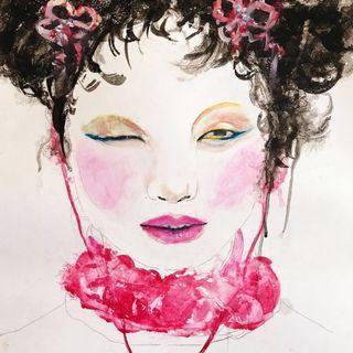 Chinese Fashion Illustration Artwork
