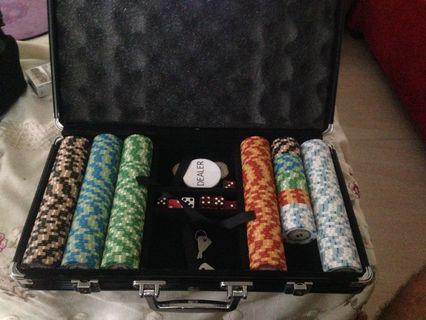 Poker Set Monte Carlo