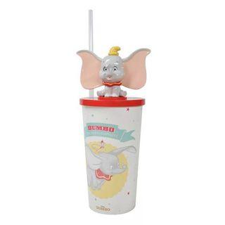 🌸現貨🌸迪士尼正版儿童成人小飛象系列加厚吸管杯 儿童水杯