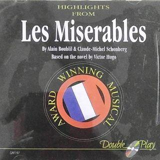 🚚 Original  Musical CD - LES MISERABLES