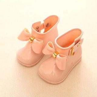 🌸現貨🌸新款日本原單 女童雨鞋寶寶雨靴防滑水鞋學生膠鞋公主鞋