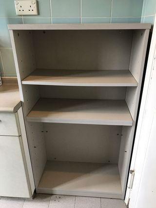 木製層架櫃 wooden cupboard