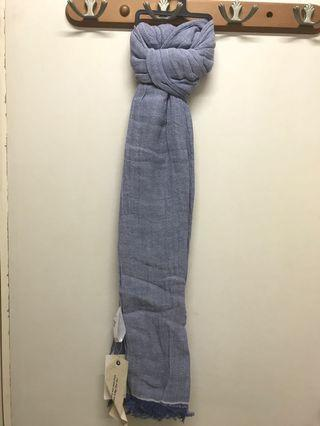 Uniqlo Women Cotton Linen Stole 180x90cm