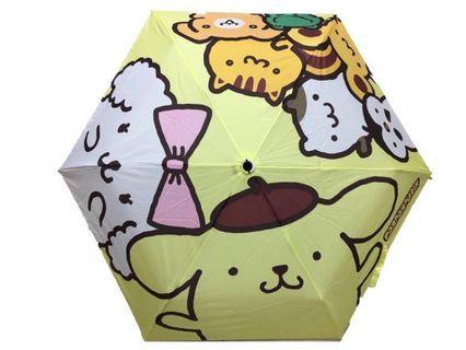 Sanrio 布甸狗 縮骨遮 雨傘