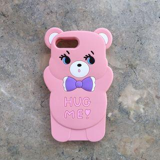 8plus 7plus 6splus 6plus iphone pink bear case