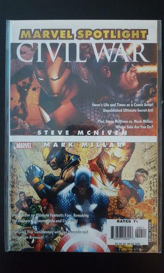 *Clearance Sale Bargain Bin Offer* Marvel Spotlight Civil War (2016 1st Series)