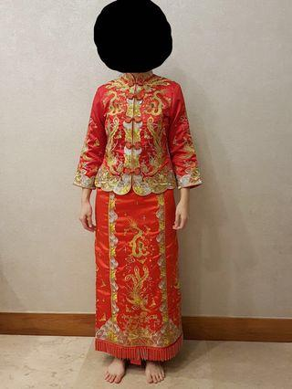 🚚 Wedding Tea Ceremony Red + Gold Kua