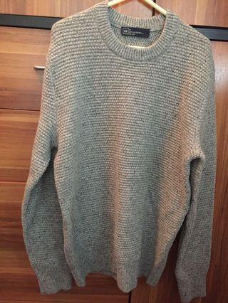GAP灰色冷衫 Men Wool Sweater
