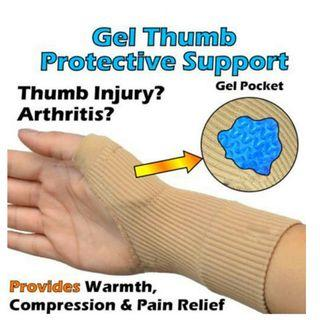 👍👍Best Buy for 1pair Therapy Gloves Gel Filled Thumb Hand Wrist Gloves Support Arthritis Compression .Usual Price :$29.90. Now : $9.90 +FREE mail  postage.