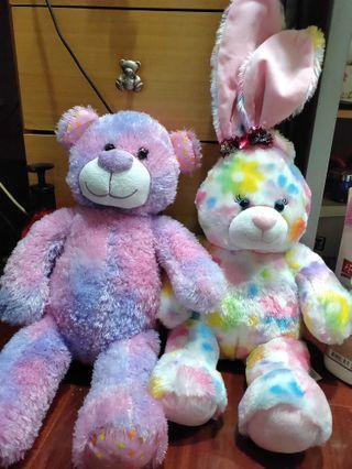 🚚 彩色娃娃2隻 可換物