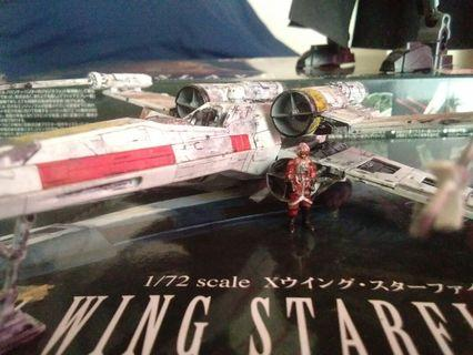 Star Wars figures ( Assembled and Modelled )