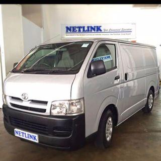 (Hiace) Lease/Rental of Commercial Vehicles