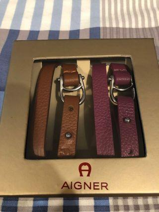 🚚 BNIB Etienne Aigner Double Tour Bracelet