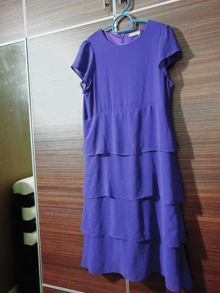 Poplook purple Dress size 8