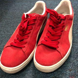48763bc4eea Puma Suede Classic+ (Red White)