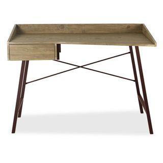 USED: Castanho Office Desk Brown