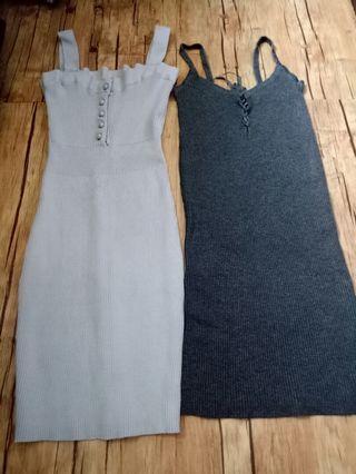 Bodycon dress 2pcs