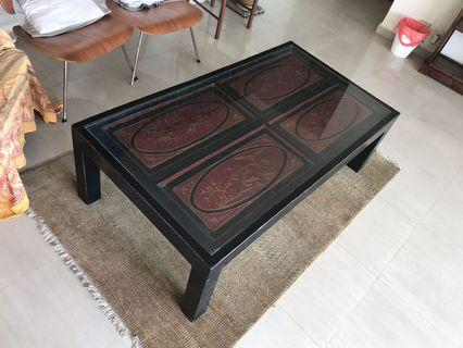🚚 Vintage style coffee table - to go today/tomorrow