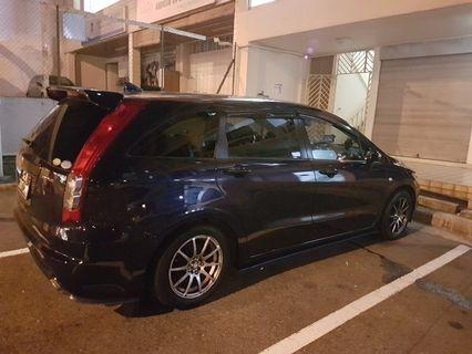 Renting out my car.Honda Stream (Auto)(25th night to 28th night)