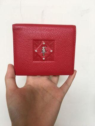 ⚠️JUAL MURAH⚠️ Premium leather red wallet