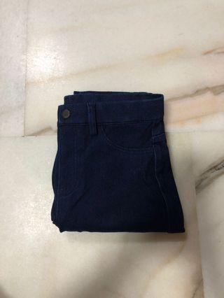 🚚 Uniqlo dark blue Jeans