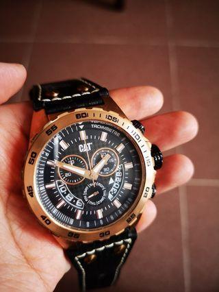 CAT錶 - 玫瑰金 x 深藍