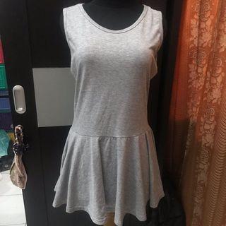 Mini dress grey