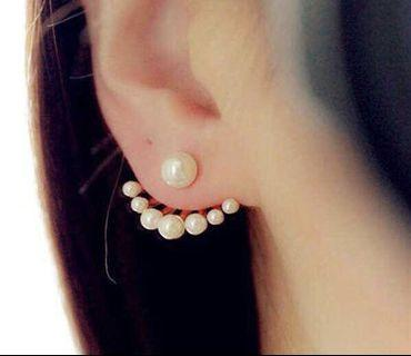 Fancy Faux Pearl Earrings!❤️