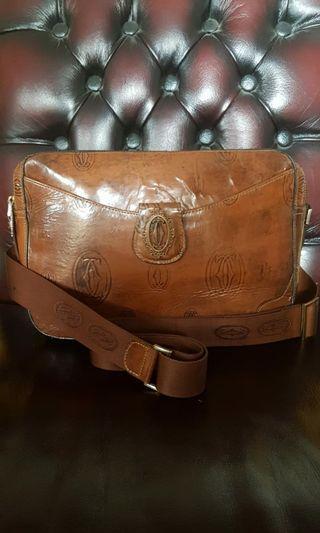 Authentic Cartier Sling Bag