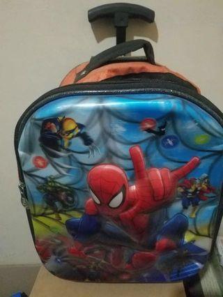 tas troley spiderman tk turun harga