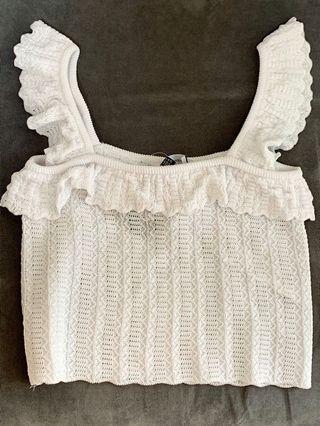 針織小背心mini vest