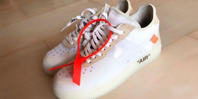 outlet store 9a20b dcc5e Nike Air Force 1 X Off-white