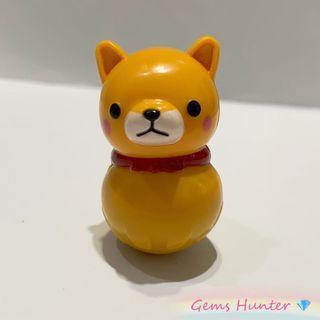 柴犬三兄弟 柴犬不倒翁玩具 小擺設 赤柴 精品 Amuse Namco 冒險樂園小玩具 小禮物