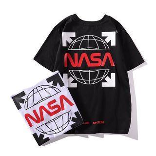 Off White Tshirt NASA Edition