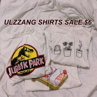 🚚 BRAND NEW ulzzang shirts sale