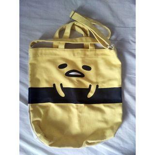 Gudetama Egg Tamago Shoulder Messenger Tote Bag