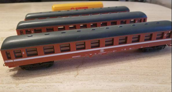 Lima wagons SNCB HO scale