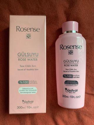 土耳其製Rosense 天然玫瑰純露(可作化妝水,爽膚水)