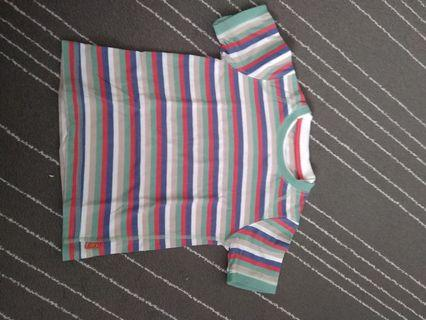 Mothercare stripe shirt