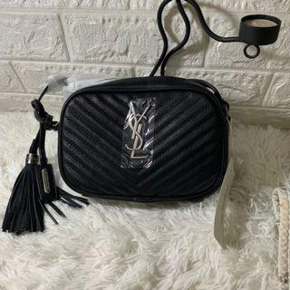YSL Monogram Blogger Bag