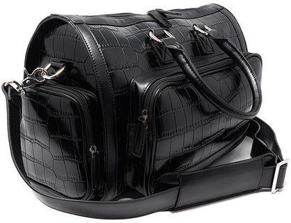 🚚 ✈️ Luxury Leather Duffel Overnight Weekender Travel Bag