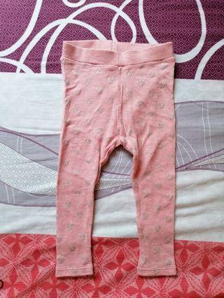 H&M pink legging pants