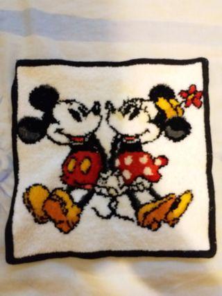 Classic Disney 米奇米妮方形雙面毛巾