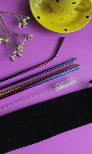 Stainless Straw Multicolor