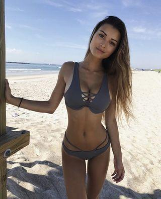Tobii Swim Grey Bikini