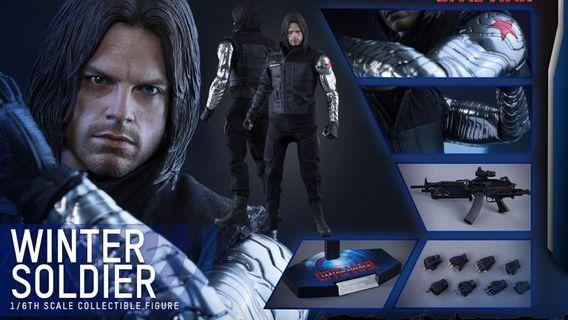 Hottoys civil War Winter Soldier 冬兵 MMS351