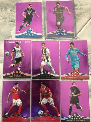 🚚 Panini Treble Soccer 2018 - Purple (#/49)